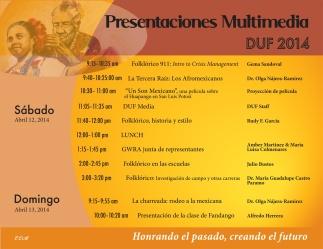 Danzantes Unidos Festival Multimedia Lecture Series