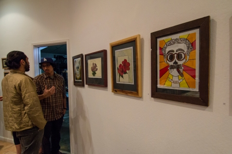 Printmaker Enrique Lopez First Friday Exhibit